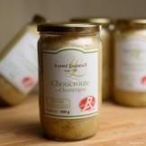 Choucroute aux lardons et champagne - bocal de 600 gr