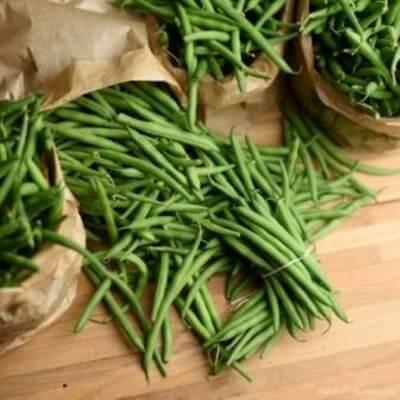 Haricots verts - 1 kg (environ)