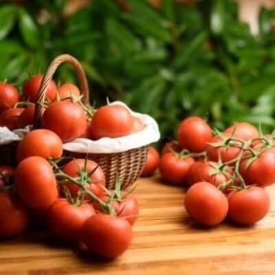 Tomates rondes en grappe - 500 gr (environ)