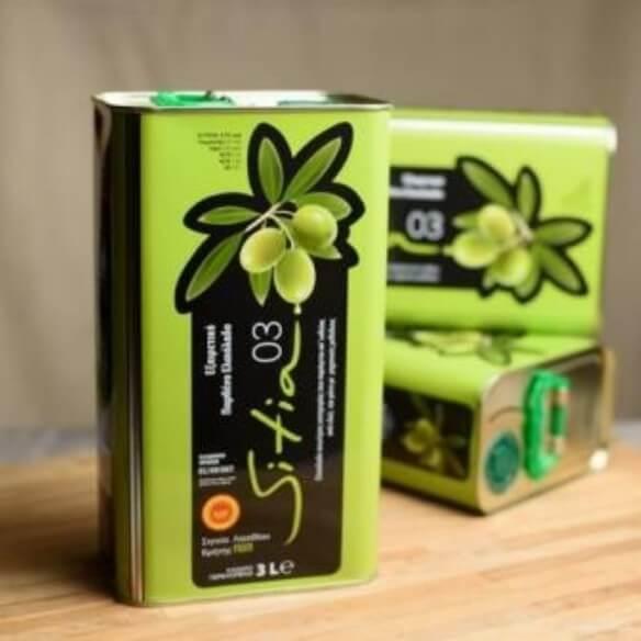 Huile d'olive Sitia 0,3 - 3 L