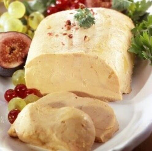 Foie gras de canard entier mi-cuit au Sauternes