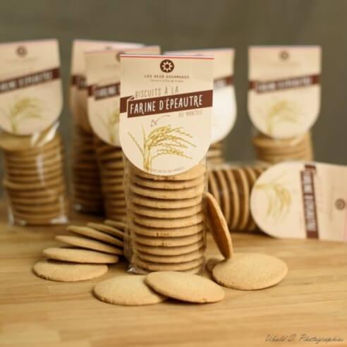 Biscuits à la farine d'épeautre - 132 gr