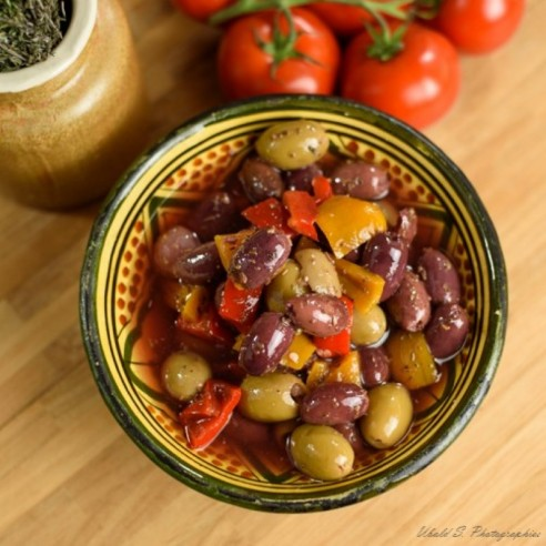 Olives Méli Mélo extra - 250 gr (environ)