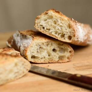Pain - Baguette tradi graines x 3 - 750 gr