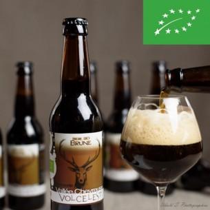Bière brune Volcelest - Bouteille de 33cl