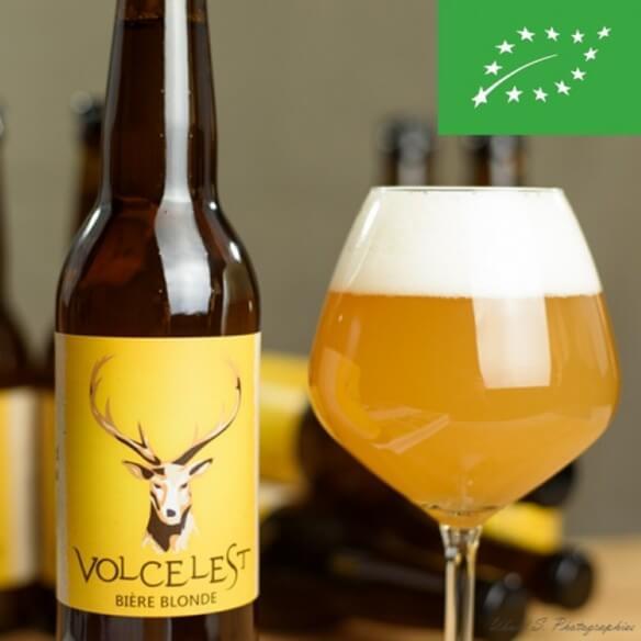 Bière blonde Volcelest - bouteille de 33 cl