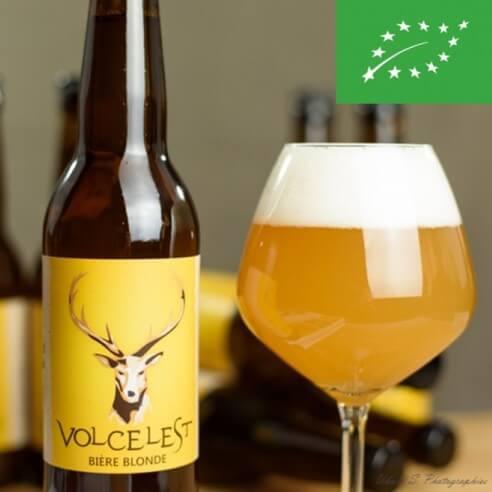 Bières blondes Volcelest - x4