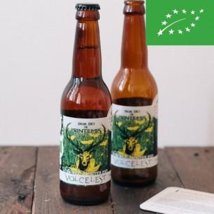 Bière de Printemps Volcelest - bouteille 33 cl