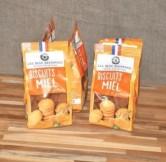 Biscuits au miel de tilleul du Gâtinais - 132 gr