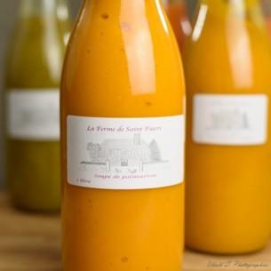 Potage - Soupe de Potirons 100 % naturel - 1/2 litre