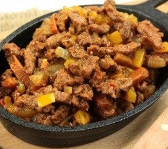Bœuf - Émincé de bœuf mariné - 150 gr (environ)