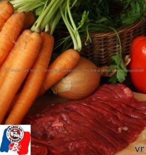 Bœuf Charolais - Bavette d'Aloyau - 3 achetées / 1 offerte (environ 640 gr)