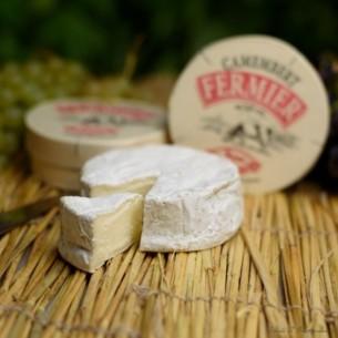 Camembert au lait entier fermier - pièce