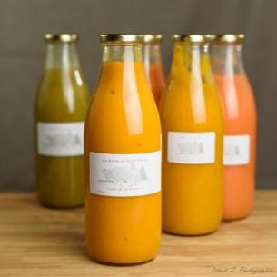 Potage - Soupe de potimarron & châtaigne 100 % naturel - 1 litre