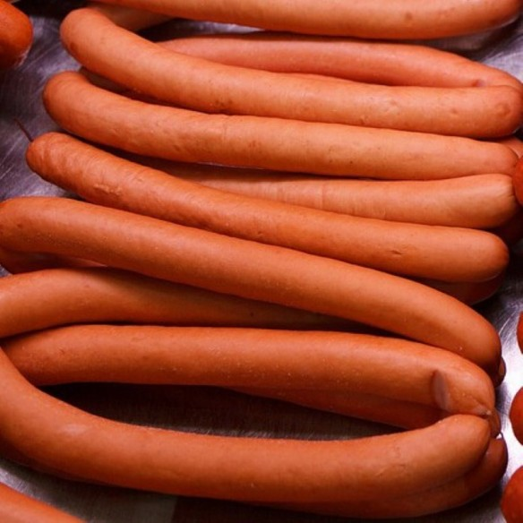 Porc - Saucisses de Francfort - 1 kg (environ) - 10 pièces