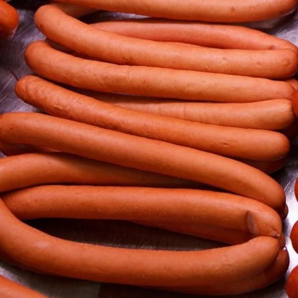 Porc - Saucisses de Francfort - 500 gr (environ) - 6 pièces