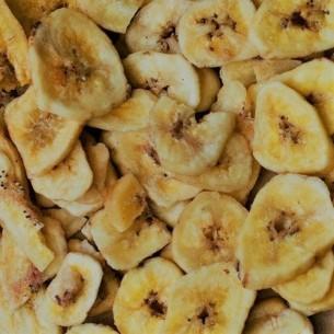 Chips de bananes séchées - 250 gr