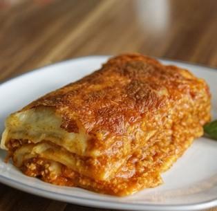 Lasagne de boeuf - 250 gr (environ) - 1 personne
