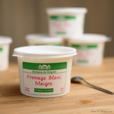 Fromage blanc - Fermier - Maigre - 500 gr