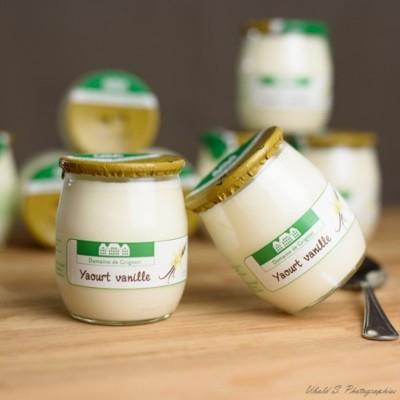Yaourt - Fermier - Vanille - 2 pots verre