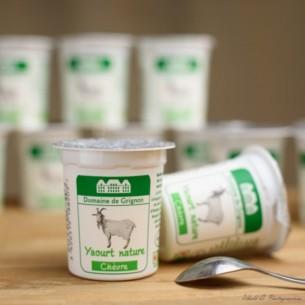 Yaourt - Lait de chèvre - Nature - 12 pots