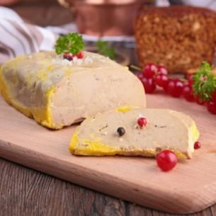 Mi-cuit de foie gras de canard fait maison - 270 gr (environ)