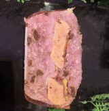 Terrine de cailles foie gras raisin - 500 gr (environ)