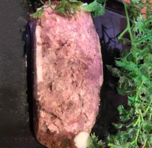 Terrine de chevreuil faite maison - 500 gr (environ)