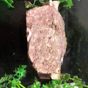 Terrine de sanglier faite maison - 500 gr (environ)