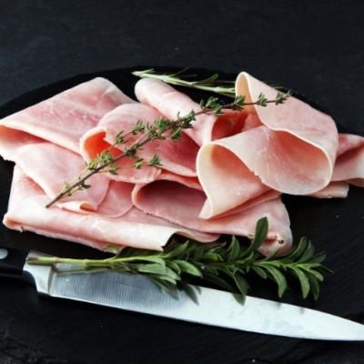 Jambon Cuit Supérieur avec couenne - 500 gr
