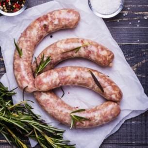 Porc - Saucisses de Toulouse 500g (environ)