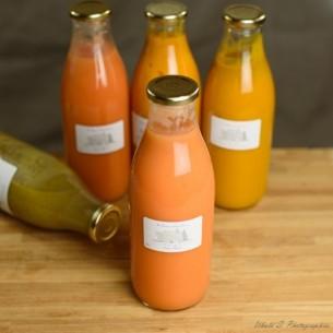 Potage - Soupe de Potirons 100 % naturel - 1 litre