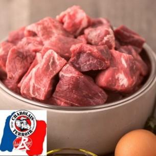 Bœuf Charolais - Bourguignon - 500 gr (environ)