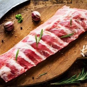 Porc - Travers - 500 gr (environ)