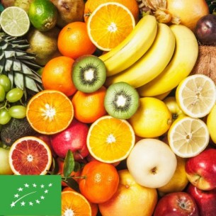 BIO - Lot 5 kg de Fruits (environ)