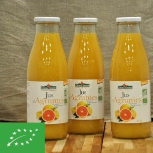 Jus d'agrumes bio - 75cl