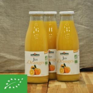 Jus d'oranges BIO - 0.75 L