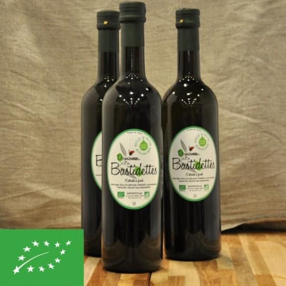 Huile d'olive BIO française - 75 cl