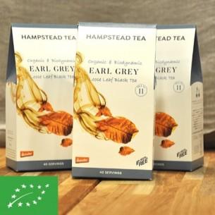 Thé bio - Earl grey - Boite de 100 gr