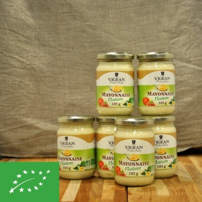 Mayonnaise bio nature - 185 gr