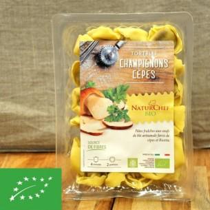 Pâtes fraiches BIO artisanales aux Cèpes - 250g