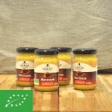 Moutarde bio au curcuma - 210 gr