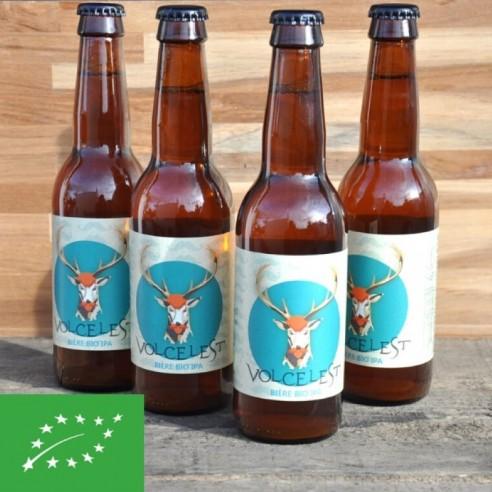 Bière IPA Volcelest - bouteille de 33 cl