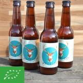 Bière IPA Volcelest - bouteille de 33 cl x4