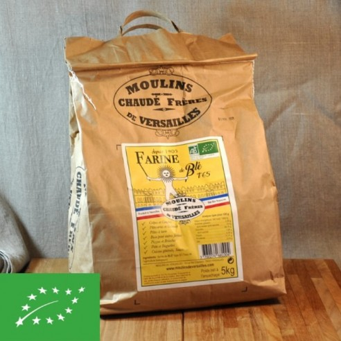 Farine BIO blé T65 - 5 kg