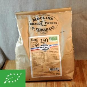 Farine Complète BIO blé T150 - 5 kg