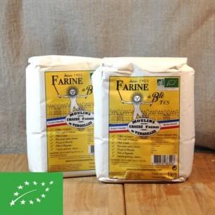 Farine - Biologique Blé T65 - 1 kg