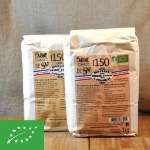 Farine - Complète Biologique Blé T150 - 1 kg