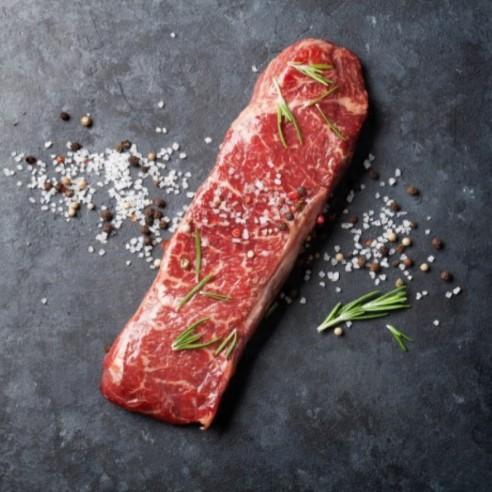 Bœuf - Bifteck rond de gîte - 1kg (environ)