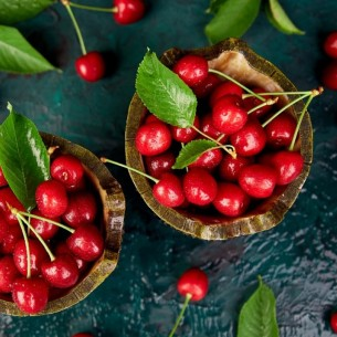 Cerises rouges - 500 gr (environ)
